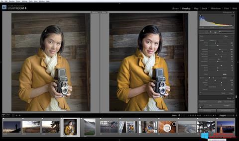 لقطة شاشة Adobe Photoshop Lightroom لنظام التشغيل Windows 8.1