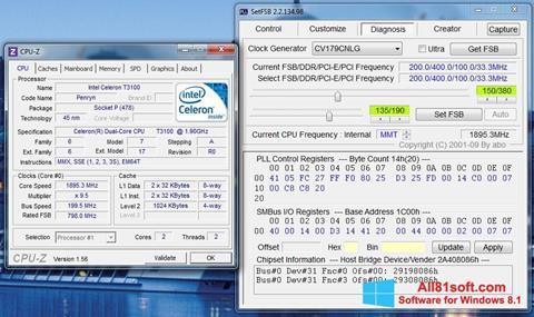 لقطة شاشة SetFSB لنظام التشغيل Windows 8.1