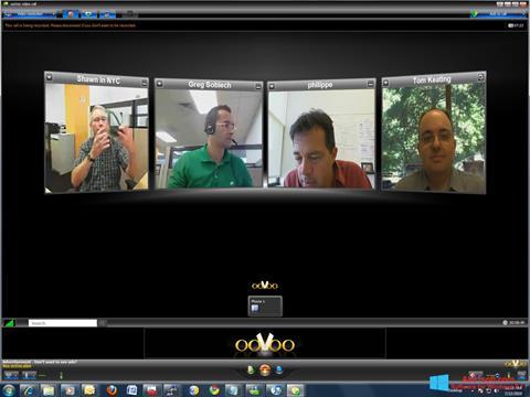 لقطة شاشة ooVoo لنظام التشغيل Windows 8.1