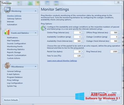 لقطة شاشة QIP لنظام التشغيل Windows 8.1