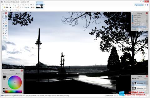 لقطة شاشة Paint.NET لنظام التشغيل Windows 8.1