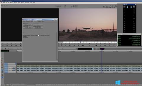 لقطة شاشة Avid Media Composer لنظام التشغيل Windows 8.1