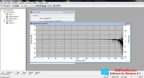لقطة شاشة Speaker لنظام التشغيل Windows 8.1