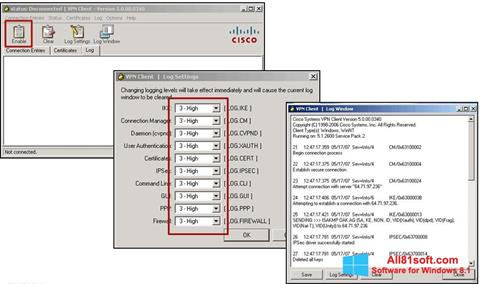 تحميل Cisco VPN Client لنظام التشغيل Windows 8 1 32/64 bit