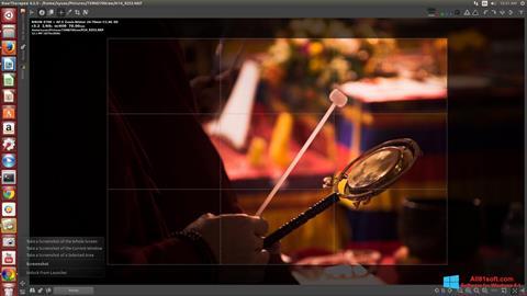 لقطة شاشة RawTherapee لنظام التشغيل Windows 8.1