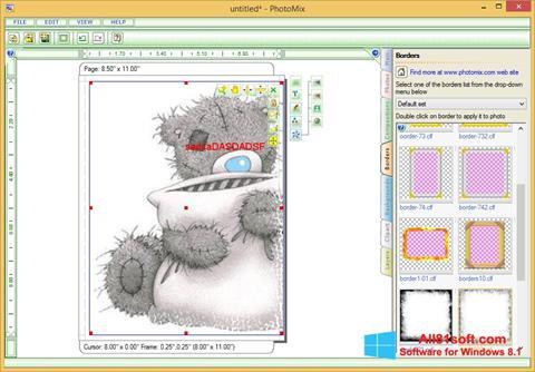 لقطة شاشة PhotoMix Collage لنظام التشغيل Windows 8.1
